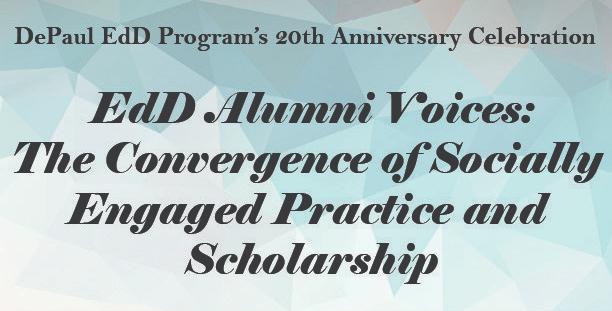 DePaul EdD 20th AnniversaryCelebration
